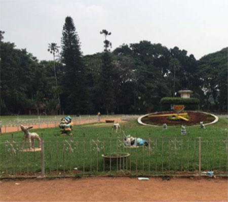 Lal Bagh, Bangalore - Floral Clock