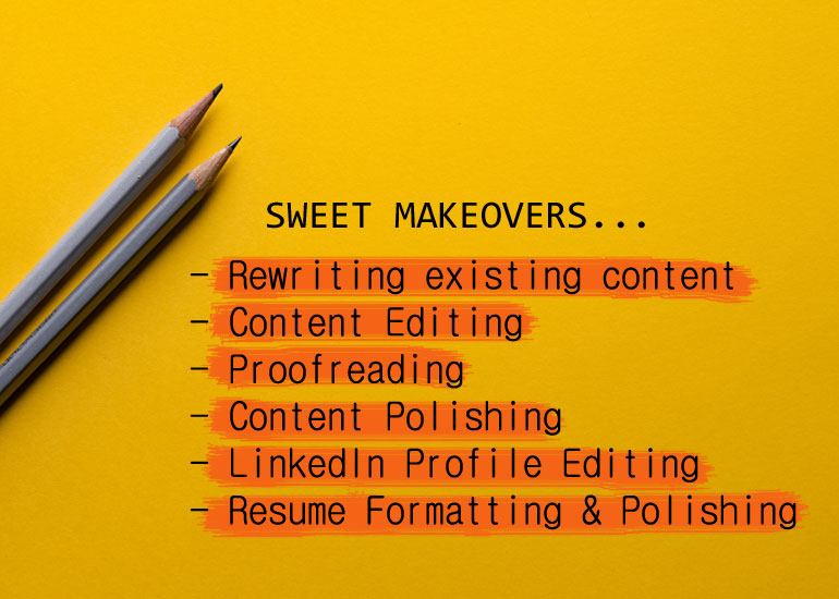 Content Rewriting Editing Services India