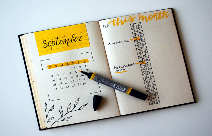 Maintaining a Journal for your Resolutions is a great idea!